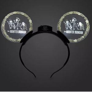 Disney Parks 50th Anniversary Haunted Mansion Ears